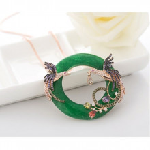 colier verde