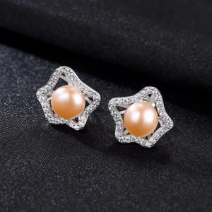 bijuterii cu perle roz