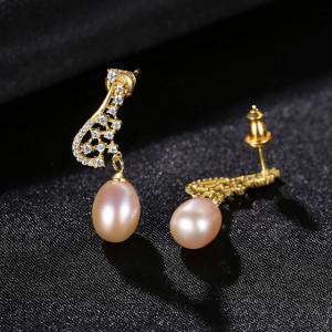 cercei perle roz Zelda