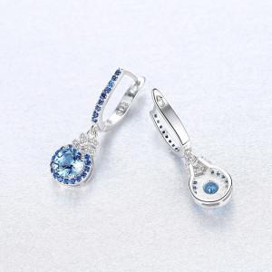 Cercei de argint Anastasia