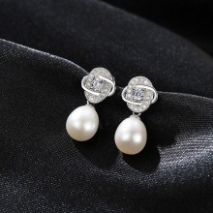 Cercei argint perle naturale Adele