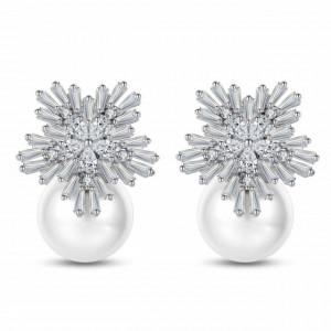 Cercei eleganti cu perle Emelia