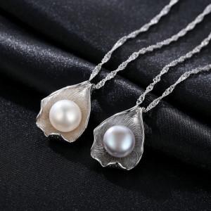 colier argint perle naturale