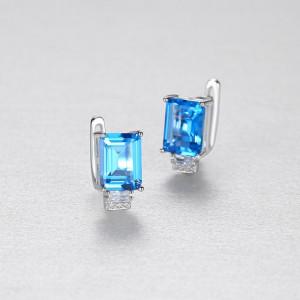 bijuterii albastre din argint