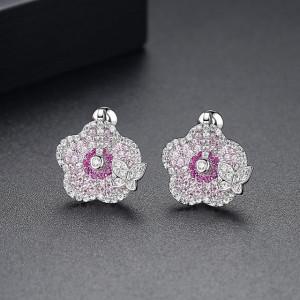 Marigold Cercei Cristale Roz
