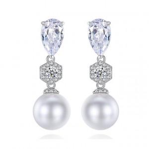 Cercei eleganti cu perle Lucille