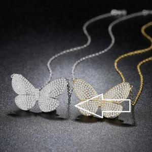 colier dama fluture