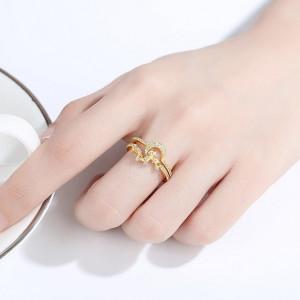 inele argint aurit