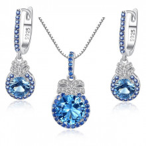 Set bijuterii argint Anastasia