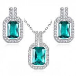 Set bijuterii argint Elegance