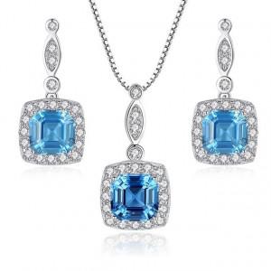 Set bijuterii din argint Emilia