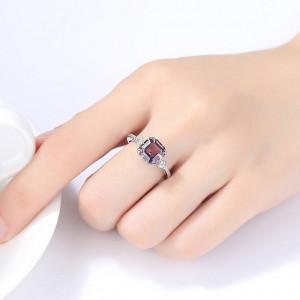 Set cercei si inel argint Almera