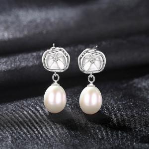 Cercei perle naturale Greta