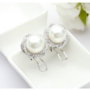 cercei mireasa perle