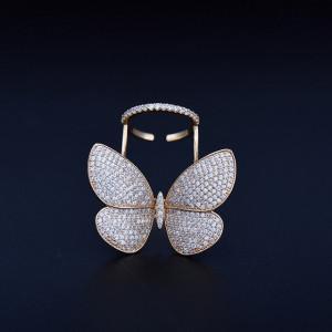 Inel fluture supradimensionat Joanna