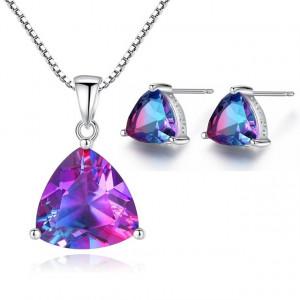 Set bijuterii argint Mystic Fire