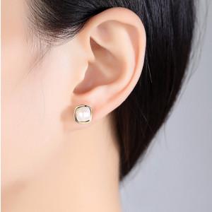 Cercei argint cu perle naturale Alexia