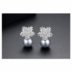 cercei eleganti perle