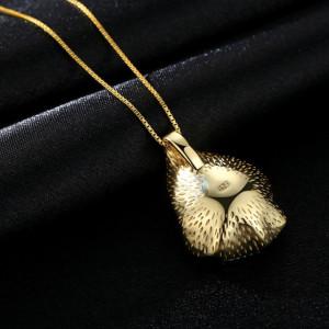 colier, argint aurit