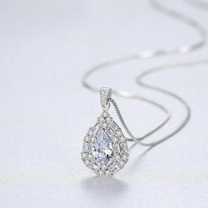 Colier Argint cu Cristale Chance