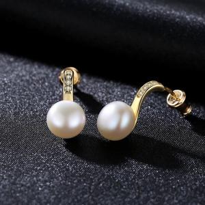 Cercei perle naturale Sanda
