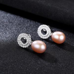 cercei perle mov
