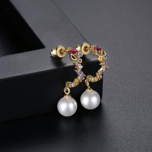 cercei perle dama
