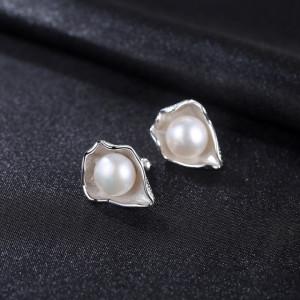 cercei argint perle naturale