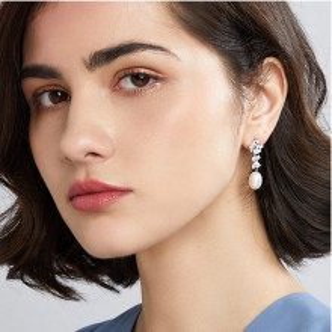 Cercei perle naturale Miriam
