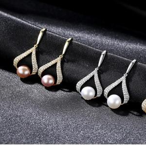 cercei perle naturale
