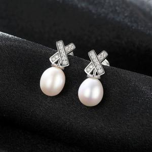 Cercei perle naturale Raina