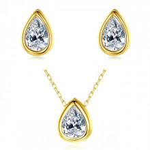 Set bijuterii argint aurit Anya