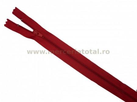 Fermoar 50cm rosu