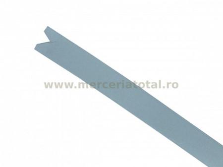 Panglica saten 15mm alb