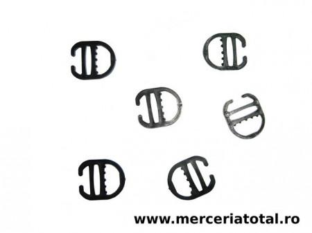Reglor plastic sutien negru