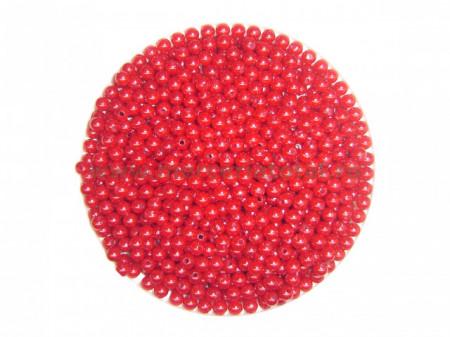 mergele perla rosu