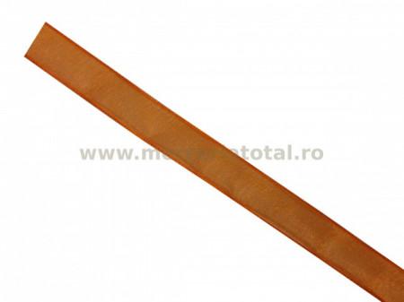 Panglica organza 12mm portocaliu