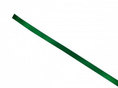 Panglica saten 7mm verde