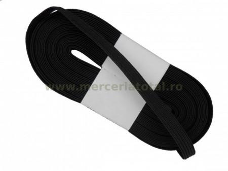 elastic 7mm negru