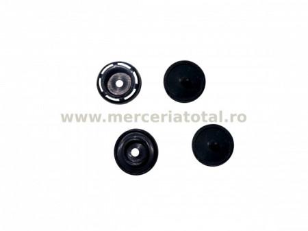 Capsa plastic 12mm negru