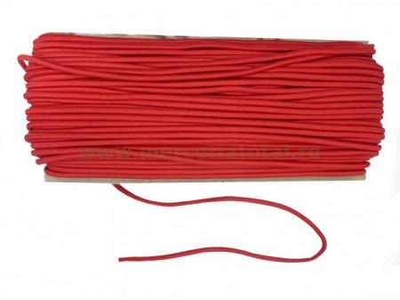 elastic rotund rosu