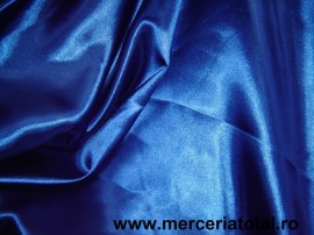 Saten albastru