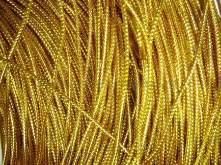 Snur metalic auriu