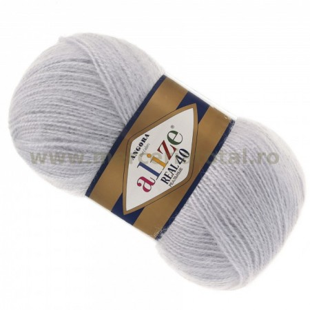 Alize Angora Real 40 52 light grey