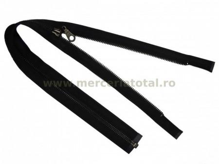 Fermoar metalic detasabil 50cm negru