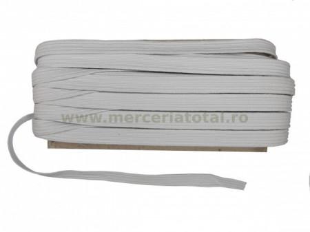Elastic 10mm alb