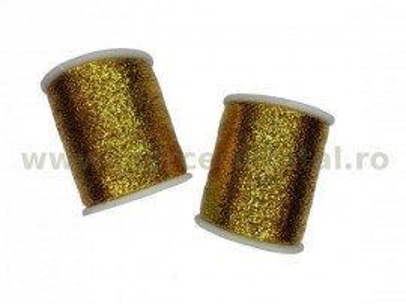 Ata metalica auriu