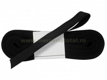 Elastic 15mm negru