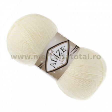 Alize Şal Simli 01 cream