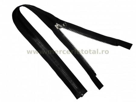 Fermoar plastic detasabil 50cm negru